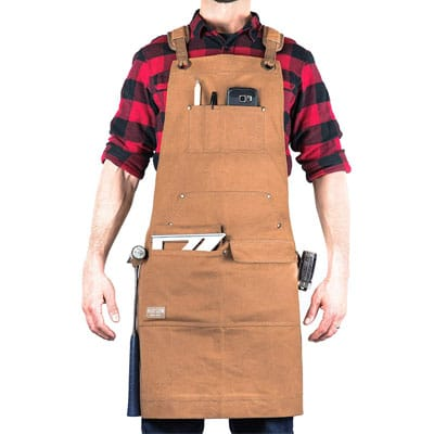 Hudson Durable Goods Adjustable woodworking Apron