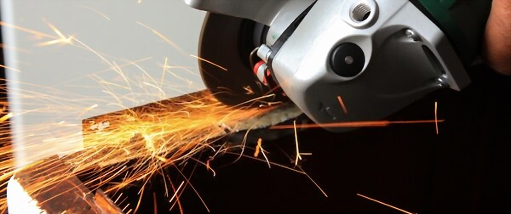 Cutting Angle Iron With Angle Grinder